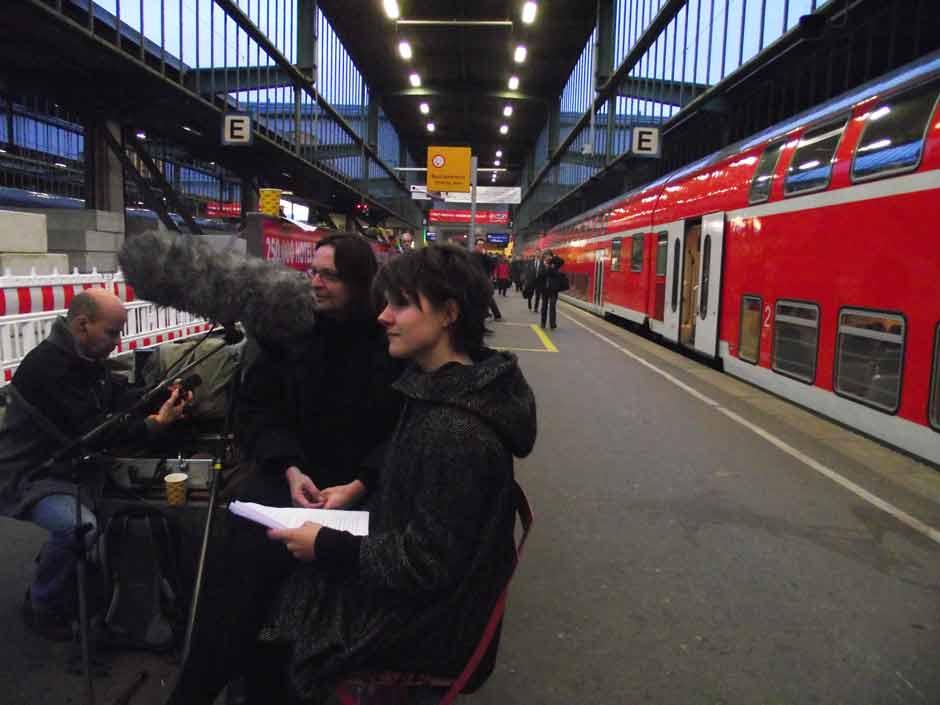SWR2-Lesung: Am Bahnsteig