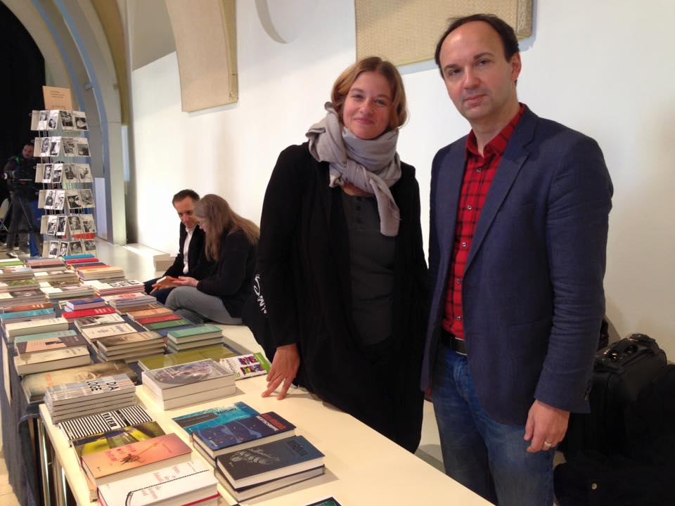 Babet Mader bei der BuchQuartier 2015