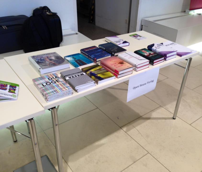 BuchQuartier Open House Verlag Stand