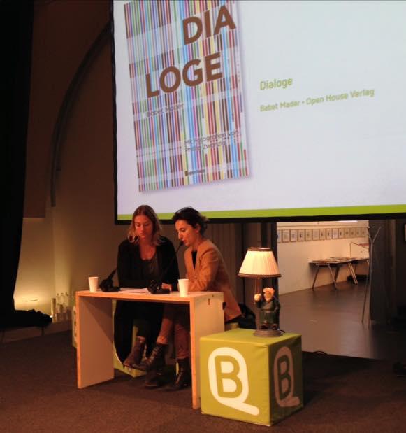 Buchquartier 2015 Babet Mader liest