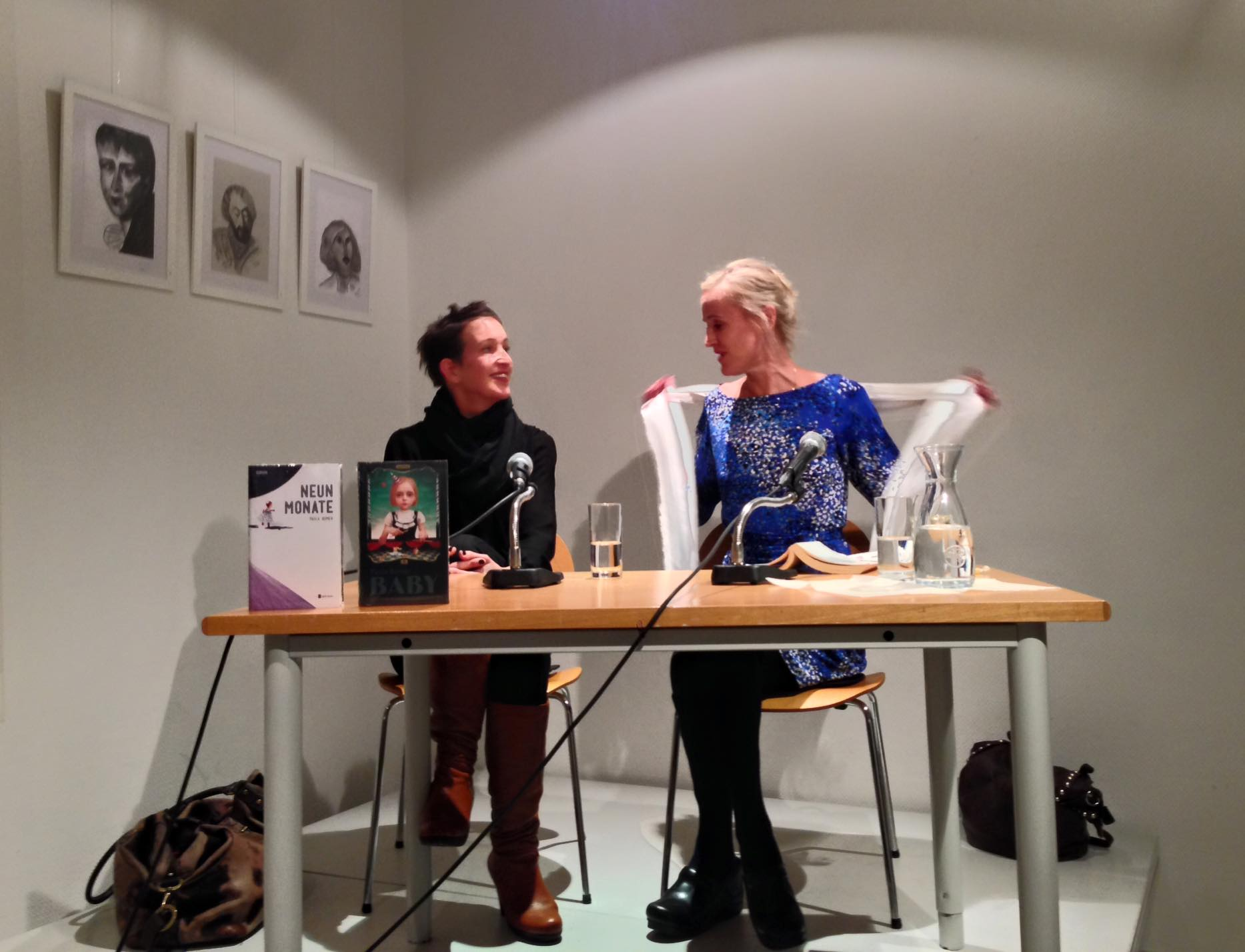 Paula Bomer im Literaturhaus Schleswig-Holstein