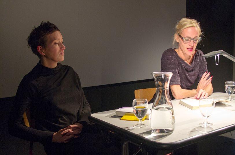 Christine Koschmieder und Paula Bomer