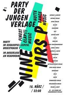 Party der Jungen Verlage 2016