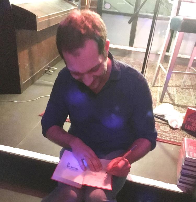 Christoph Jehlicka signiert